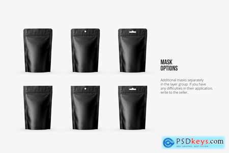 Stand Up Pouch Mockup Front view 5133210